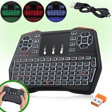 Mini Funk Tastatur mit Touchpad kabellos Wireless Keyboard für PC/TV BOX /PS3 DE