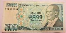 TURQUIE 50000 Lire 1970 Türk Lirasi YIRMI BIN