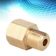 """Brass Pipe Fitting 1/8"""" NPT Male x 1/8"""" Female BSP Adapter Fitting LO"""
