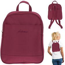 Rucksack Damen Fabrizio Mini Tasche Mode Roma Freizeitrucksack 62073 Rot +s
