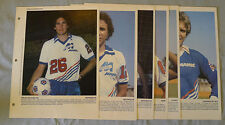 1982 Lot of 6 Dimanche Derniere Heure Montreal Manic Soccer Photos