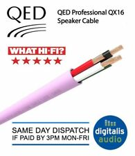 QED QX16/4 Low Smoke Zero Halogen LSZH 4 Core OFC Speaker Cable Pink