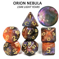 Orion Nebula Concept Dice Set