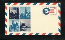 USA - MINT POSTAL CARD / SCOTT # UXC5  - VISIT THE USA