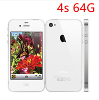 US SELLER New Apple iPhone 4s 64GB White (Unlocked) iOS GSM Smartphone Not used