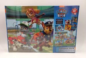 PAW PATROL 2014 Nickelodeon 8 Puzzle Pack Spin Master Sealed - Item#58570