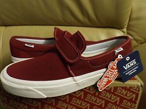 Vans Slip On 47 V Dx Anaheim Factory Men's Size 11.5 Shoes Og Brick VN0A3MVAUL2
