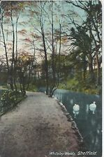 Postcard - Whiteley Woods Sheffield posted 1911