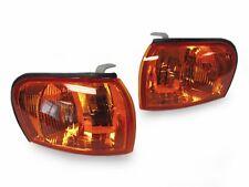 GC8 Crystal Amber Corner Lights Lamps FOR 1995-2001 SUBARU IMPREZA CC8A E-MARK