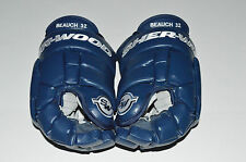 "FRANCOIS BEAUCHEMIN SHER-WOOD 14"" BPM-120 PRO-STOCK GLOVES Colorado Blue 3rd!"