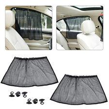 Smartfox 2X Sonnenschutz f/ür Baby Blendschutz Insektenschutz f/ür Seitenfenster PKW KFZ Auto schwarz