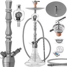 DILAW® VATOS Shisha Set 93cm Aluminium Alu Wasserpfeife Molassefänger Hookah NEU