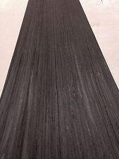 Bog Oak Veneer, wood veneer sheet, 2500mm x310mm - real wood