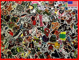 200 New Random Skateboard Stickers bomb Laptop Luggage Decals Dope Sticker Lot