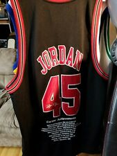 Michael Jordan Bulls 45 Mitchell & Ness Jersey sz 52
