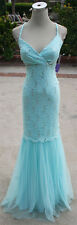 NWT MORGAN & CO $140 Mint Formal Evening Prom Gown 3