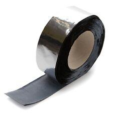 Bitumenband Alu-Dichtband Aluminium-Folie Dach-Reparatur Aluband 75x1,3mm / 10m