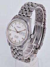 Tissot PR 100 P364 / 464 Tag Datum Stahl Herren Armbanduhr Automatik