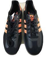 Adidas Men Samba Shoes Black/ Orange Size Us 9 / Uk 8.5