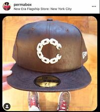 New Era 59fifty Fitted 5950 Cap Hat Crooks n Castles  7 5/8