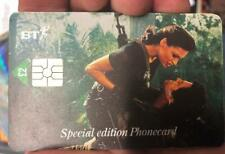 Goldeneye Pierce & Famke Janssen BT Phonecard James Bond 007