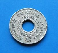 Israel Palestine British Mandate 5 Mils 1935 Coin XF