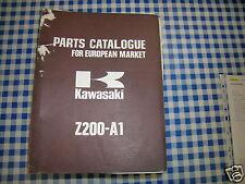 BB 99997-687catalogo pièces de rechange KAWASAKI Z200-A1 ediz. 1977