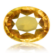 4.32ct 100% Natural earth mined rare aaa golden yellow color zircon cambodia
