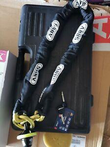 Abus Granit Victory 68/12KS/120 Loop chain and disc lock - Motorcycle/Motorbike
