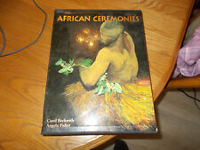 BECKWITH/FISHER - AFRICAN CEREMONIES VOLS. 1&2 HARDCOVER BOOKS IN BOOK SLEEVE