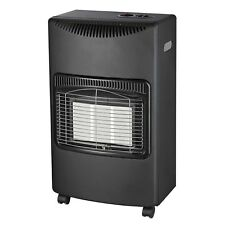 FoxHunter 4.2Kw Portable Home Butane Fire Calor Gas Cabinet Heater Regulator New