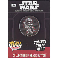 Funko Pinback Buttons - Star Wars Episode 7 - CAPTAIN PHASMA (1.25 inch) - New
