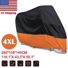 XXXXL Waterproof Motorcycle Cover For Harley Davidson Street Glide FLHX Touring