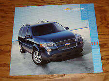 Original 2007 Chevrolet Uplander Deluxe Sales Brochure 07 Chevy