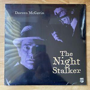 The Night Stalker Laserdisc Darren McGavin Cult Classic LD - RARE FACTORY SEALED