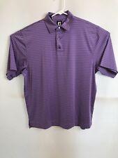 Mens FootJoy FJ Polo Golf Shirt Purple Size Large
