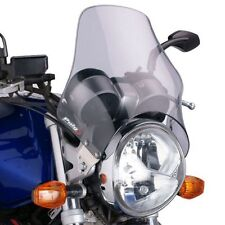 Bugspoiler - Universal Motorcycle Screen for Naked Bikes: Light Grey 04802A