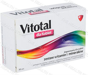 Vitotal For Women 30 tablets - Vitamins & Minerals composed for women