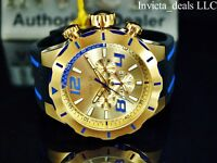 Invicta Men's 52mm S1 Rally Turbo Quartz Chronograph 18K Gold Plated SS Watch
