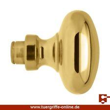 AHB Türknopf Krafeld 8065 Messing poliert Lochteil für 8x8 mm Vierkant Türknauf