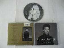 Lionel Richie back to front - CD Compact Disc
