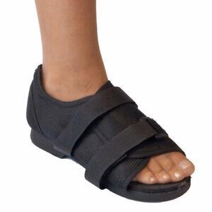 Men's Post Op Shoe (Open Toe) Post surgery shoe for bunion toe & foot operations