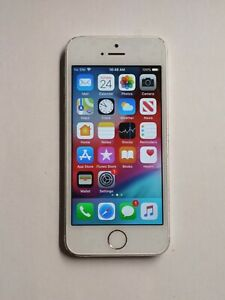 Apple iPhone 5s - 64GB - Silver (Unlocked) A1533 (GSM)IOS 12.5.5