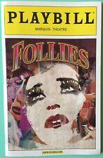 Bernadette Peters Follies New Color Playbill Jan Maxwell Ron Raines Elaine Paige
