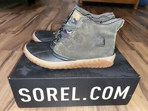New SOREL Out N About Ankle Duck Boots Alpine Tundra