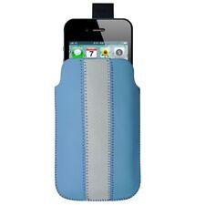Cover nokia lumia 800 n9 e6 c2-02 700 701 500 x7 n8 blue leather line