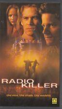Radio Killer (2001) VHS