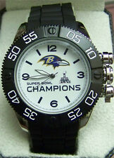 Baltimore Ravens Super Bowl XLVII Watch Game Time Mens Beast NFL-BEA-BAL-CH13