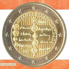 Sondermünzen Österreich: 2 Euro Münze 2005 Staatsvertrag Sondermünze Gedenkmünze
