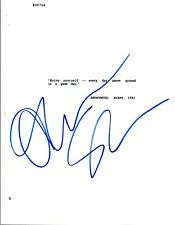 Oliver Stone Signed Autographed SCARFACE Movie Script COA VD